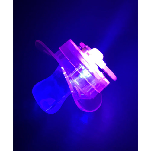 Soft Style Flashing Pacifier / Binky - ElectroLivin, LED accessories - Rave Accessories, ElectroLivin  - ElectroLivin