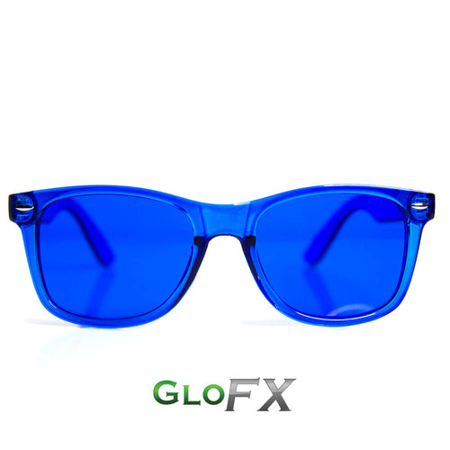 Blue Color Therapy Sunglasses - ElectroLivin, Glasses - Rave Accessories, ElectroLivin  - ElectroLivin