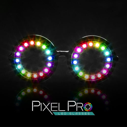Pixel Pro Glasses - ElectroLivin, luminescent - Rave Accessories, ElectroLivin  - ElectroLivin