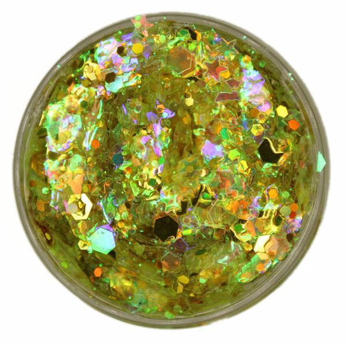 Sunburst Yellow UV Unicorn - ElectroLivin, Glitter - Rave Accessories, ElectroLivin  - ElectroLivin