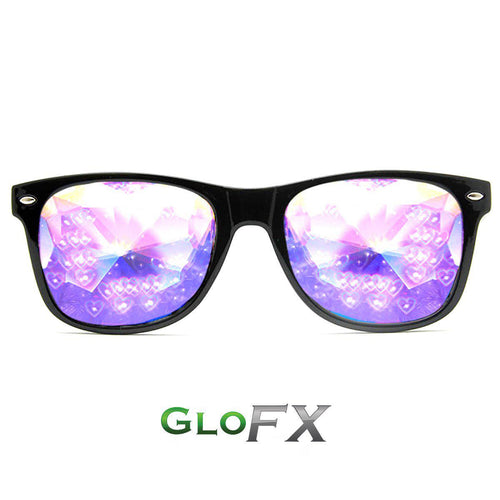Heart Effect Ultimate Kaleidoscope Glasses - ElectroLivin, Glasses - Rave Accessories, ElectroLivin  - ElectroLivin