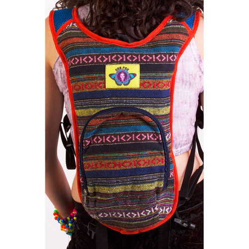 Hippie Trip Hydration Pack - ElectroLivin, Hydration Pack - Rave Accessories, ElectroLivin  - ElectroLivin