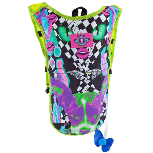 Melty Face Hydration Pack - ElectroLivin, Hydration Pack - Rave Accessories, ElectroLivin  - ElectroLivin