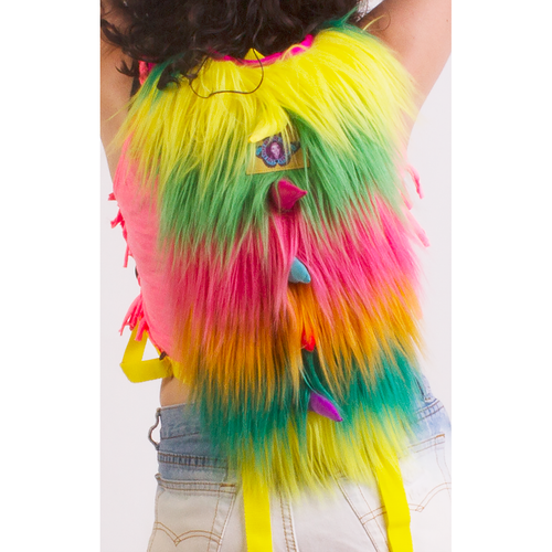 Furry Monster Hydration Pack - ElectroLivin, Hydration Pack - Rave Accessories, ElectroLivin  - ElectroLivin