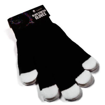Emazing Magic Stretch Gloves - Black - ElectroLivin, miscellaneous - Rave Accessories, ElectroLivin  - ElectroLivin