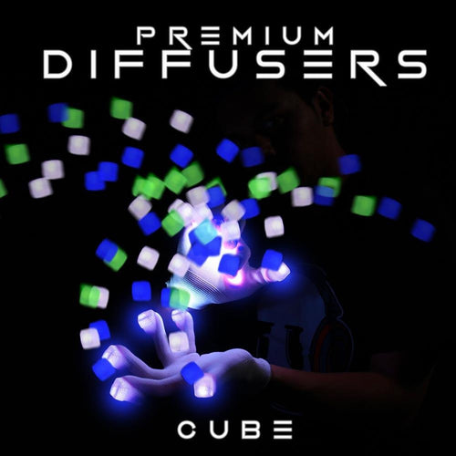 Cube Diffusers (10 Pack) - ElectroLivin, LIGHT TOY - Rave Accessories, ElectroLivin  - ElectroLivin
