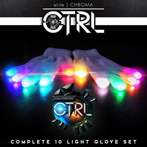 EmazingLights Elite Chroma CTRL Glove Set - ElectroLivin, LIGHT TOY - Rave Accessories, ElectroLivin  - ElectroLivin