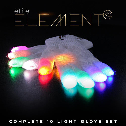 eLite Element V2 Glove Set - ElectroLivin, LIGHT TOY - Rave Accessories, ElectroLivin  - ElectroLivin