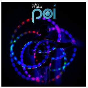 EmazingLights Elite Flow Poi Balls (Set of 2) - ElectroLivin, LIGHT TOY - Rave Accessories, ElectroLivin  - ElectroLivin