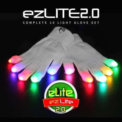 ezLite 2.0 Glove Set - ElectroLivin, LIGHT TOY - Rave Accessories, ElectroLivin  - ElectroLivin