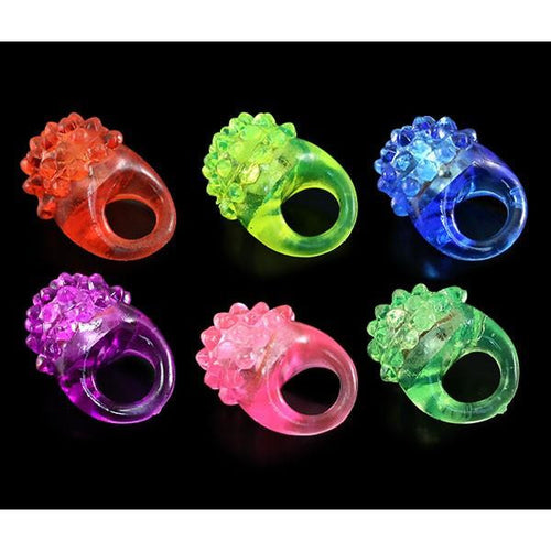 LED Flashing Jelly Ring - ElectroLivin, LED accessories - Rave Accessories, ElectroLivin  - ElectroLivin