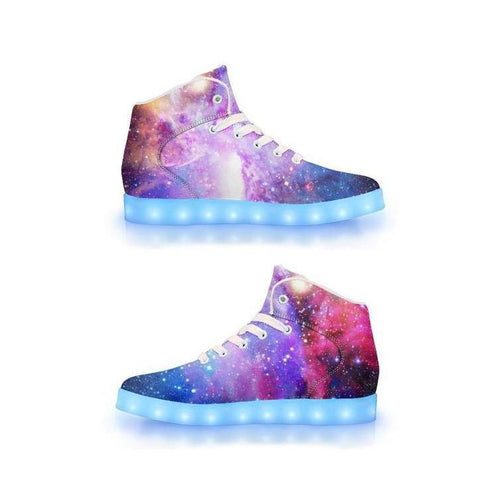 Intergalactic - APP Controlled High Top LED Shoes - ElectroLivin, Shoes - Rave Accessories, ElectroLivin  - ElectroLivin