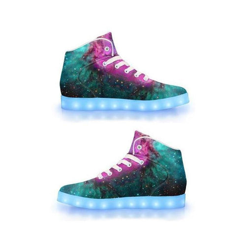 Extraterrestrial - APP Controlled High Top LED Shoes - ElectroLivin, Shoes - Rave Accessories, ElectroLivin  - ElectroLivin