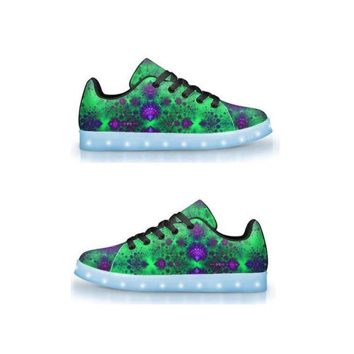 Daydream - APP Controlled Low Top LED Shoes - ElectroLivin, Shoes - Rave Accessories, ElectroLivin  - ElectroLivin