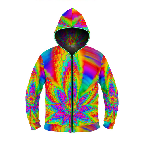 Stoned Rainbow Light Up Hoodie - ElectroLivin, Hoodie - Rave Accessories, ElectroLivin  - ElectroLivin