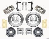2005-2013 Chevrolet Corvette - AERO6 Big Brake Front Brake Kit (Race) Nickel