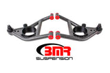 BMR 67-69 Camaro Lower A-arms, Lower, Polyurethane Bushings, (Front Bump Stops)