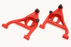 BMR 67-69 Camaro Lower A-arms, Lower, Polyurethane Bushings, (Rear Bump Stops)
