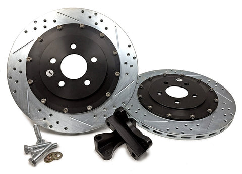 "2005-2014 Mustang GT 14"" Rear EradiSpeed+1 Rotor Upgrade Kit"