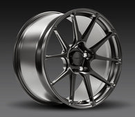 Forgeline GA1R Open Lug Cap Addition 19x11 Wheel Set