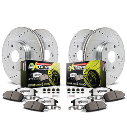 2010-2014 Mustang GT w/Brembo Power Stop Z26 Street Warrior Brake Kit
