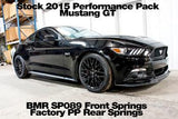 2015-2017 Mustang BMR SP089 - Lowering Springs, Front, Minimum Drop, Performance Version