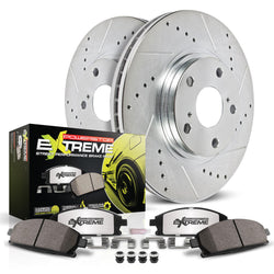 2010-2014 Mustang GT and Boss 302 w/ Brembo Power Stop Z26 Street Warrior Brake Kit (Front only)