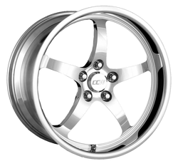 CCW SP500 18x9.5 Front 19x11 Rear C5 Corvette Wheel Set