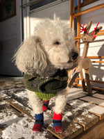 Load image into Gallery viewer, Fleece Dog Booties