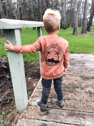 COASTAL SURF RUST CREW $22