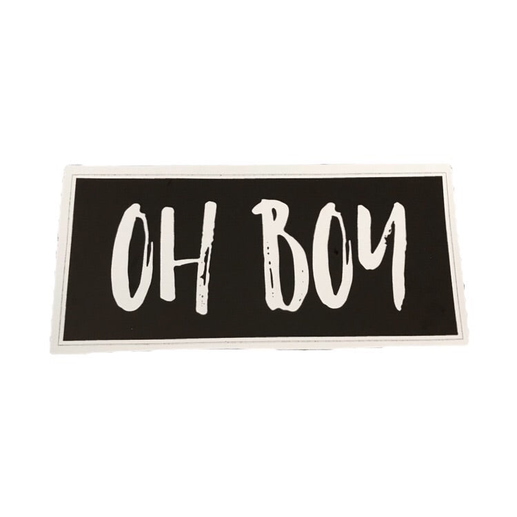 OHBOY STICKERS