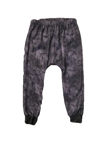 BLACK WASH LONG HAREMS
