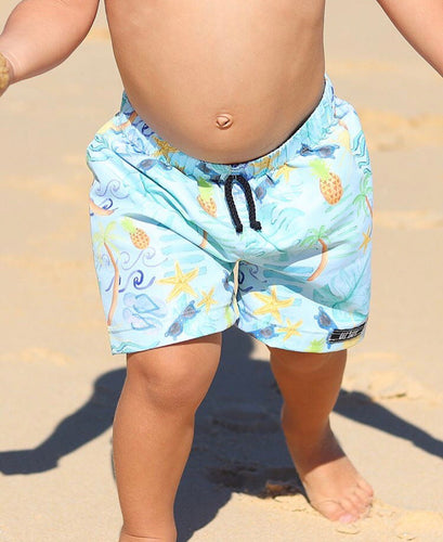 SUMMER PASTEL SURF SHORTS  (Kids Sizes ONLY)