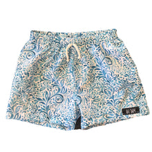 BOHO LEAVES SURF SHORTS (Kids Sizes ONLY) (Youth XXS, XS & L Available)