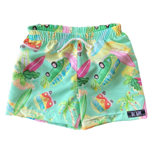 KOMBI CHRISTMAS SURF SHORTS (Kids, Youth & Adult Sizes)