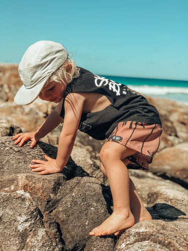 EARTH PALMS SURF SHORTS (Kids, Youth & Adult Sizes)
