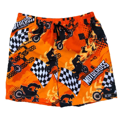 KTM ORANGE INSPIRED SURF SHORTS (Kids & Youth Sizes ONLY)