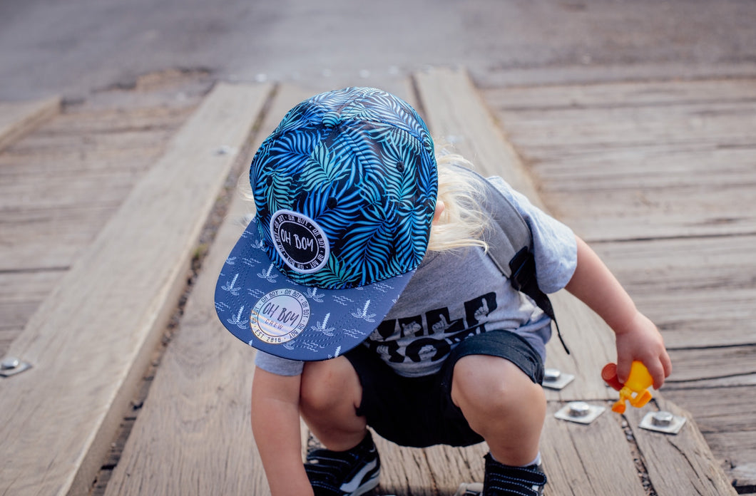 Coastal Beach Palm Cap (Kids)