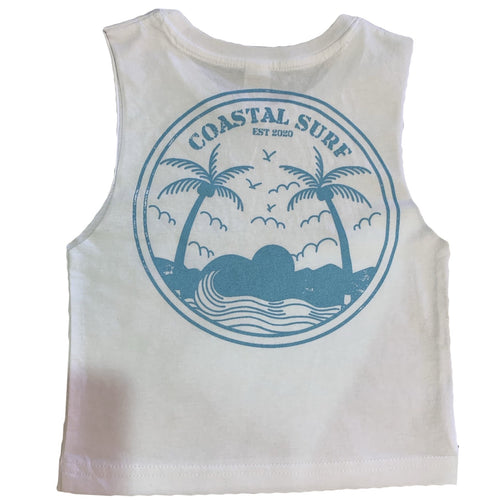 COASTAL SURF WHITE TANK