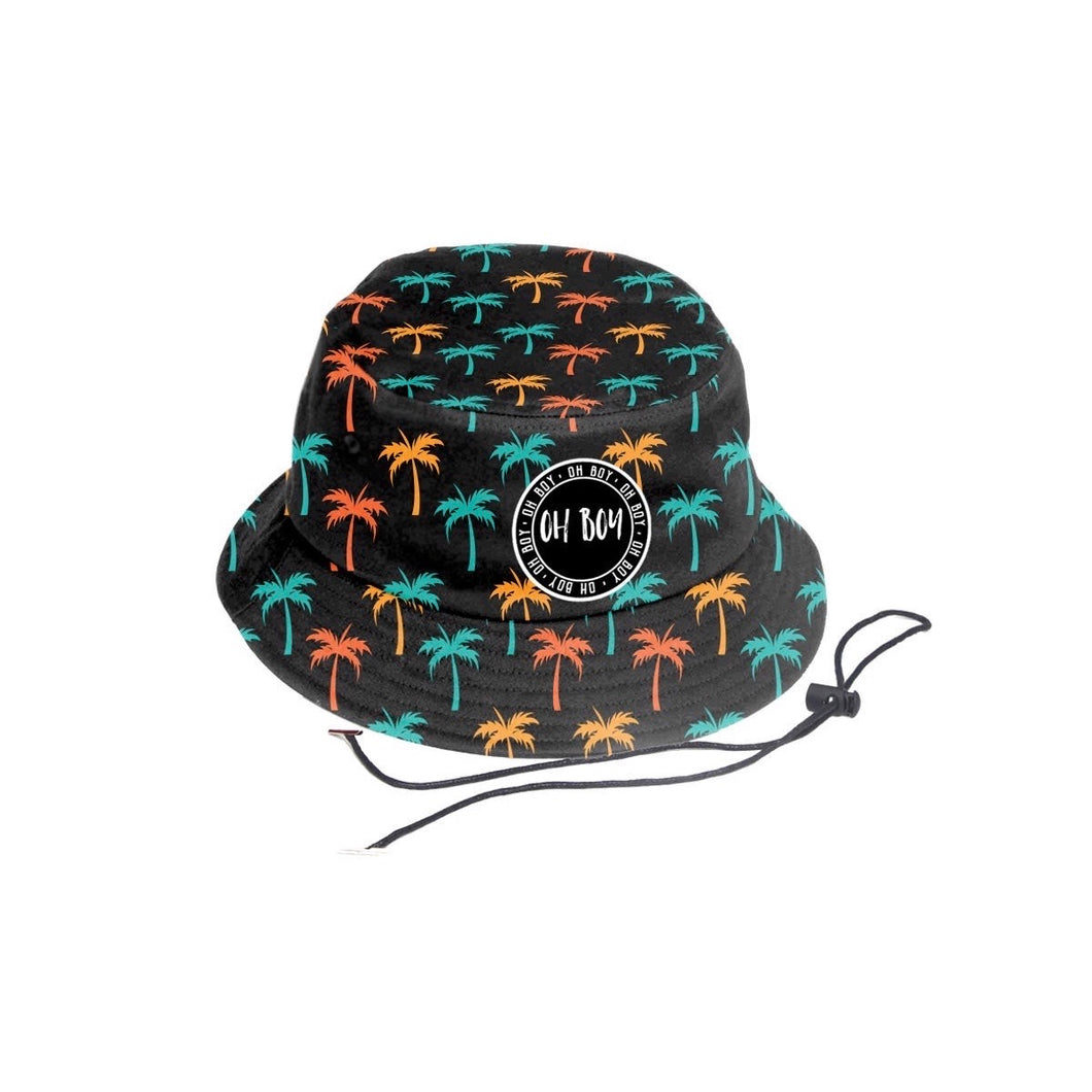 Tropical Palm Bucket Hat (Kids)