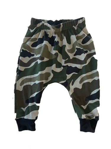 Camo LONG HAREMS from $32