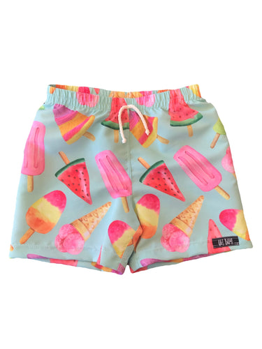 MINT ICE CREAMS SURF SHORTS (Kids, Youth & Adult Sizes)
