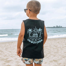PALE MINT KOMBI SURF (BLACK TANK)