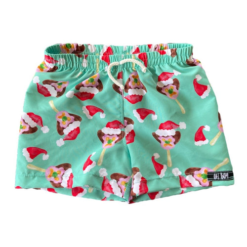 BILLY BOB CHRISTMAS SURF SHORTS ( Kids, Youth & Adult Sizes)