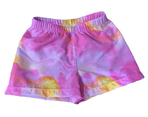 OH BABE WATERCOLOUR SURF SHORTS (Kids Sizes ONLY)
