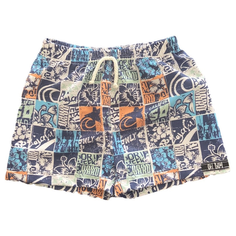VAN VINTAGE SURF SHORTS (Kids, Youth & Adult Sizes)