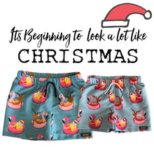 CHRISTMAS SURF SHORTS (Fluro)