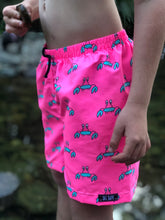 COREY CRAB PINK SURF SHORTS (Kids, Youth & Adult Sizes)