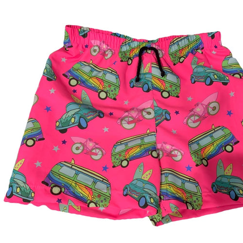 KAI KOMBI PINK SURF SHORTS (Kids sizes only)