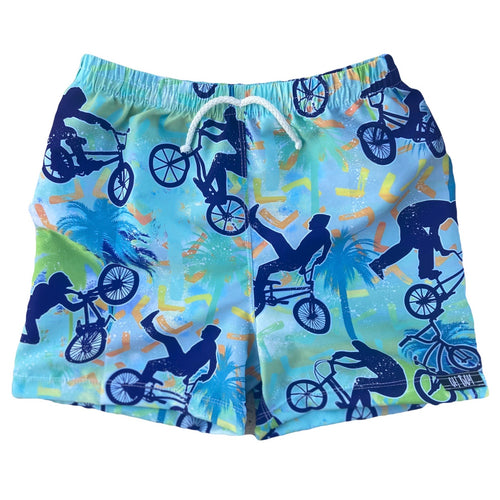 BMX BLUE SURF SHORTS (Kids Sizes ONLY)